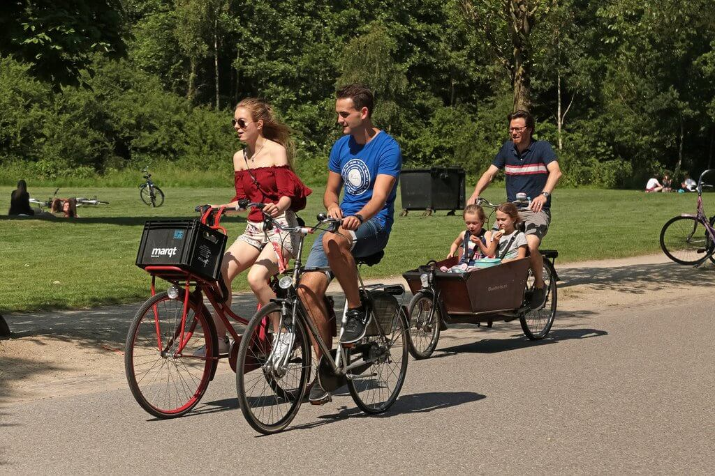 Riding with lover - Surprising Reasons Why the Dutch Love Cycling So Hard
