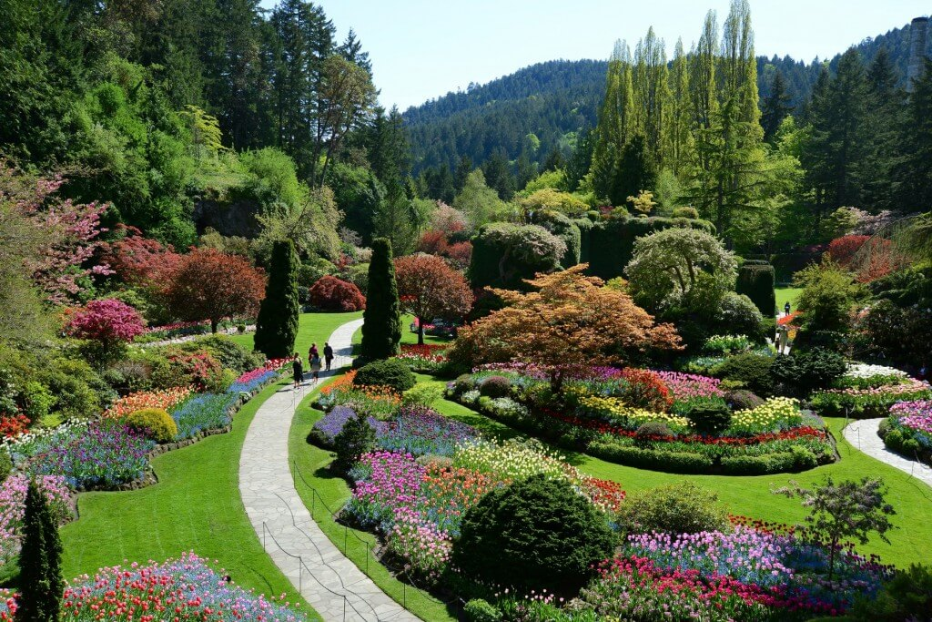 Butchart garden canada background 1sttheworld thecheapjerseys Image collections