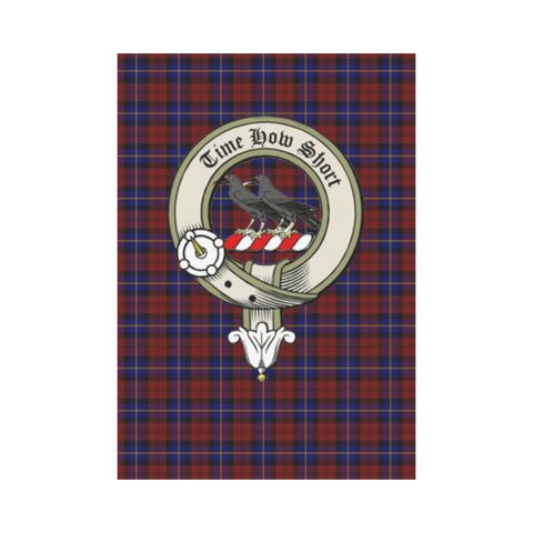 Aitken Tartan Flag Clan Badge