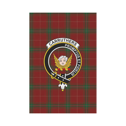 Carruthers Tartan Flag Clan Badge K9 |Home Decor| 1sttheworld