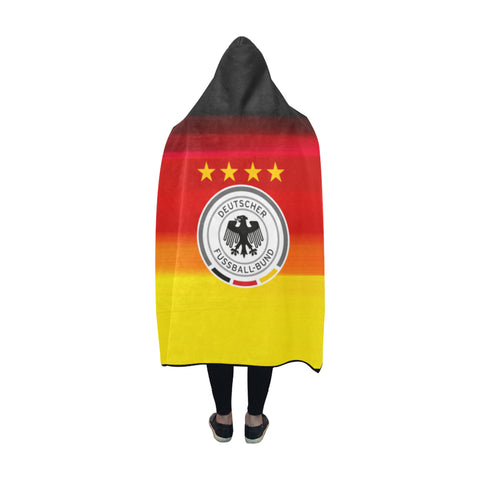 Image of Germany World Cup Special Hooded Blanket Nn9 | Love The World