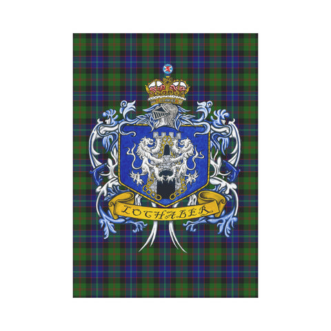 Lochaber Tartan Flag Clan Badge K9 |Home Decor| 1sttheworld