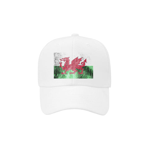 Image of WALES FLAG DAD CAP A1
