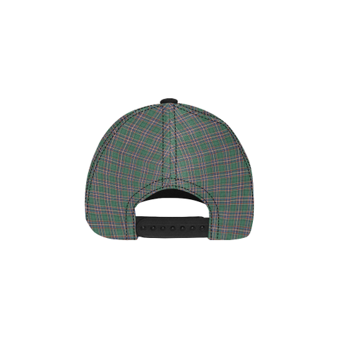 MacFarlane Hunting Ancient Clan Badge Tartan Dad Cap - BN04
