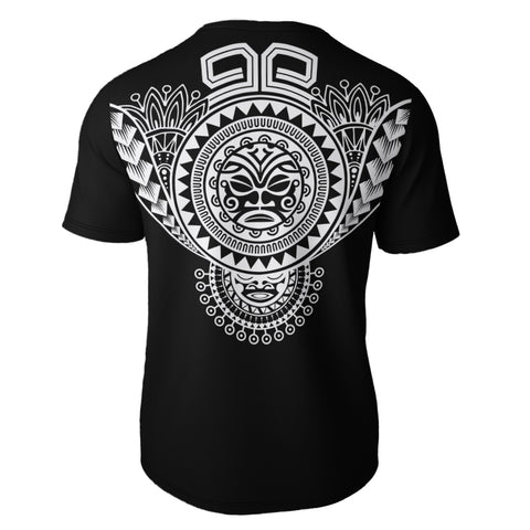 Polynesian Tiki Mask All Over T-Shirt Bn10