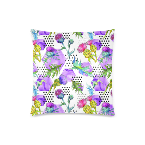 Thistle 03 Zippered Pillow Cases A1
