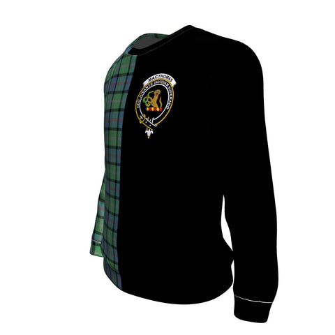 MacThomas Ancient Tartan Sweatshirt - Half Style TH8
