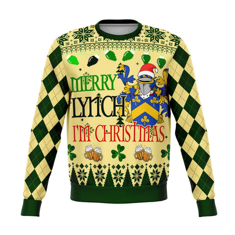 Hello Lynch I'm Christmas Sweatshirt | 1sttheworld.com