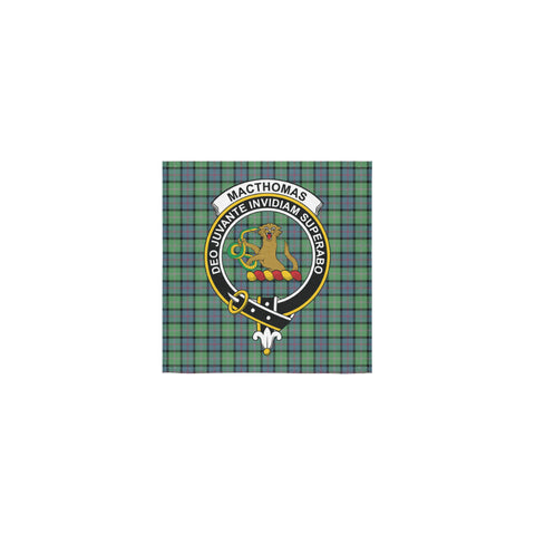 MacThomas Ancient Tartan Towel Clan Badge | 1sttheworld.com
