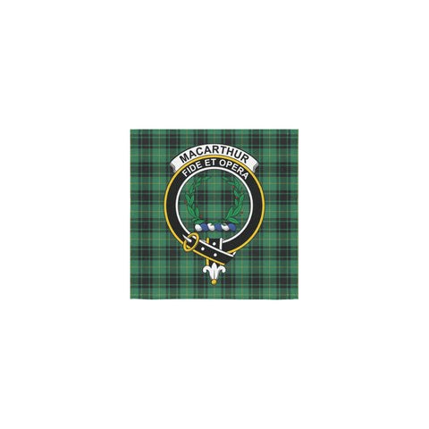 MacArthur Ancient Tartan Towel Clan Badge | 1sttheworld.com