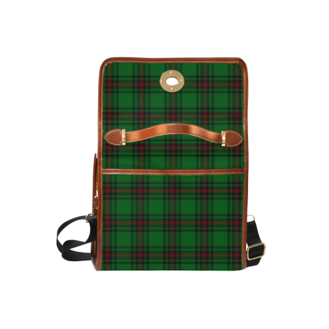 Image of Tartan Canvas Bag - Beveridge Clan | Waterproof Bag | Scottish Bag