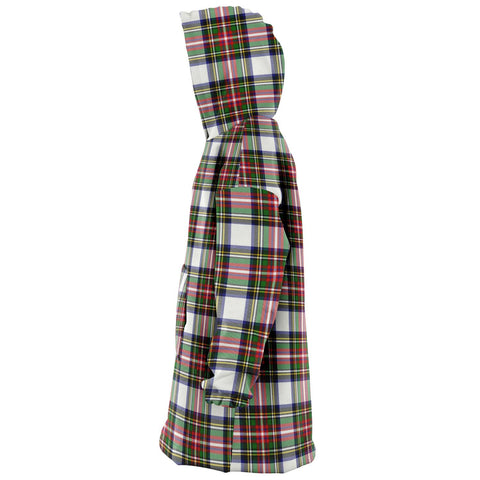 Stewart Dress Modern Snug Hoodie - Unisex Tartan Plaid Left