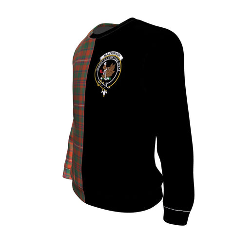 MacKinnon Ancient Tartan Sweatshirt - Half Style TH8