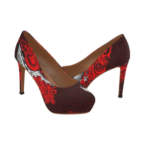 Hawaii High Heels - Hawaiian Polynesian H1