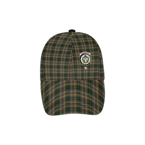 Image of Buchanan Hunting Clan Badge Tartan Dad Cap - BN03