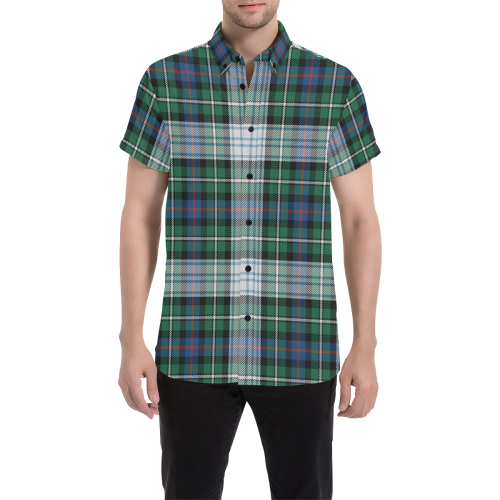 MacKenzie Dress Ancient Tartan Plaid Shirt | Online Shopping Scottish Tartan Mens Shirts