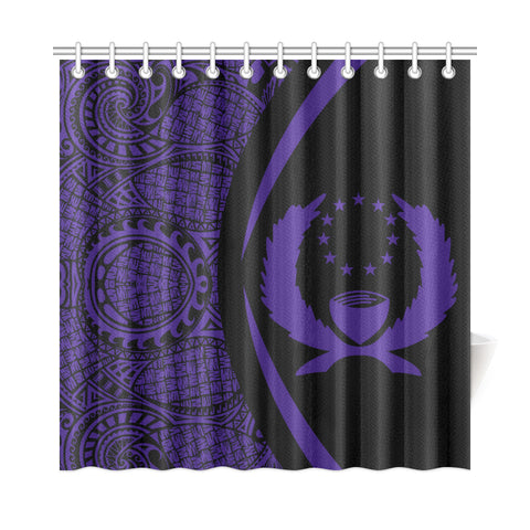 Pohnpei Shower Curtain