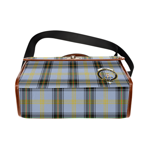Image of Tartan Canvas Bag - Bell Clan | Waterproof Bag | Scottish Bag
