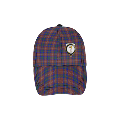 Chisholm Hunting Modern Clan Badge Tartan Dad Cap - BN03