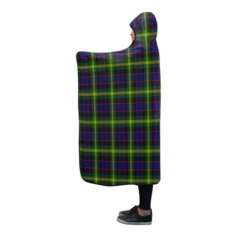 Image of Watson Modern Tartan Hooded Blanket - BN