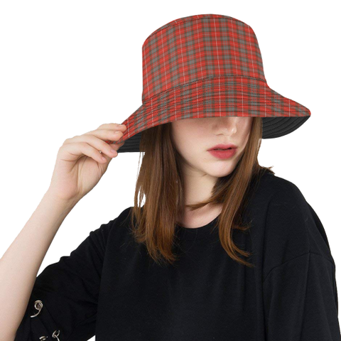 Fraser Weathered Tartan Bucket Hat