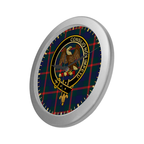 Image of AGNEW CLAN TARTAN WALL CLOCK A9