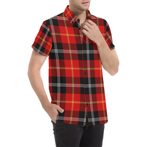 Marjoribanks Clan Tartan Plaid Shirt | Online Shopping Scottish Tartan Mens Shirts