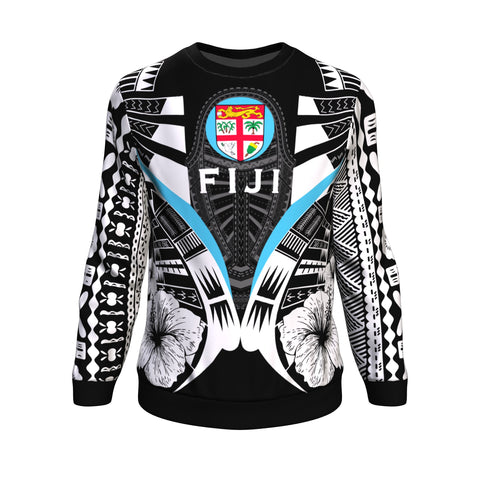 Image of Fiji Tattoo Sweatshirt Hibiscus K9