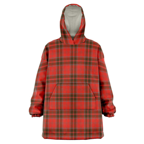 Grant Weathered Snug Hoodie - Unisex Tartan Plaid Front