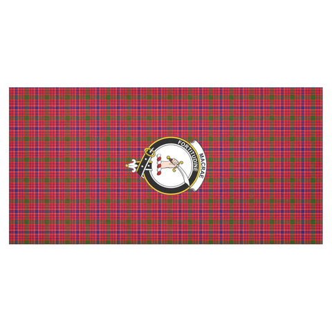 Image of MacRae Crest Tartan Tablecloth | Home Decor