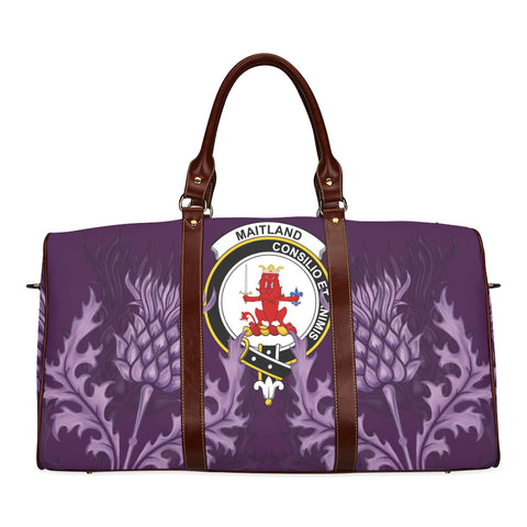 Maitland Crest Scottish Thistle Scotland Travel Bag A7