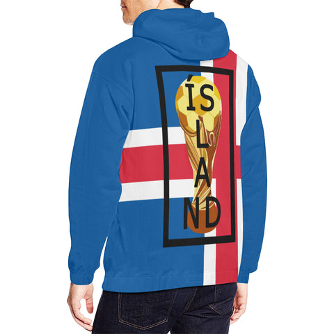 ICELAND WORLD CUP HOODIES D6