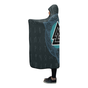 Viking Hooded Blanket - Valknut Viking A7
