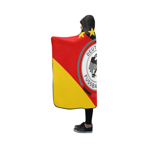 Germany World Cup Hooded Blanket 01 - Bn03 | Love The World