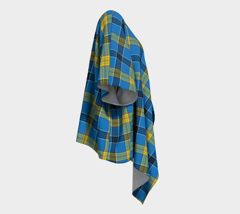Image of Laing Tartan Draped Kimono - Bn |Women's Clothing| 1sttheworld