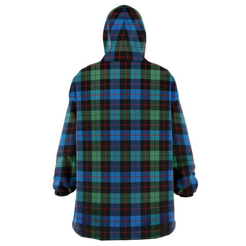Guthrie Ancient Snug Hoodie - Unisex Tartan Plaid Back