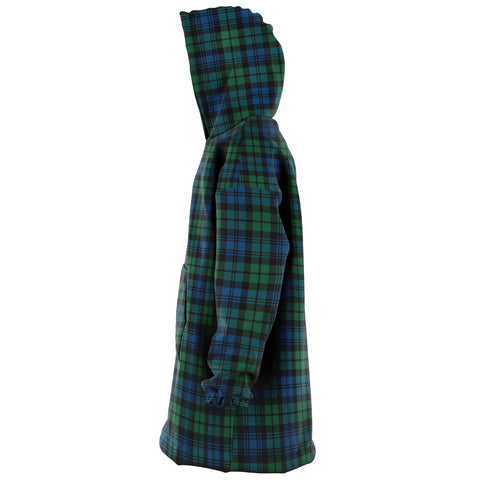 Campbell Ancient 02 Snug Hoodie - Unisex Tartan Plaid Left