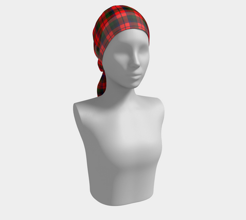 Image of Tartan Long Scarf - Macnaughton Modern - Bn04 |Women's Clothing| 1sttheworld