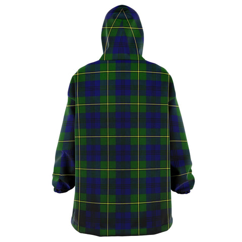 Johnston Modern Snug Hoodie - Unisex Tartan Plaid Back