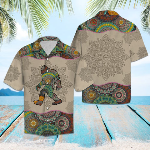 BIGFOOT MANDALA - HAWAII SHIRT A7