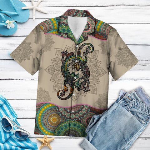 LIZARDS MANDALA G5703 - HAWAII SHIRT A7