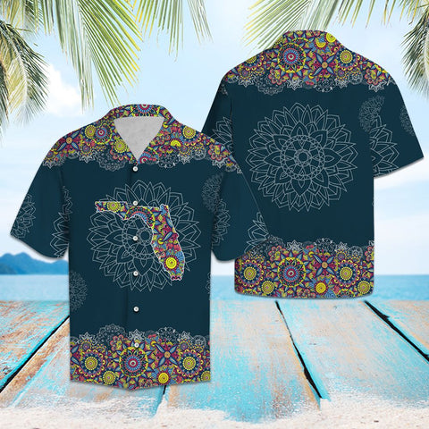 FLORIDA MANDALA - HAWAII SHIRT A7
