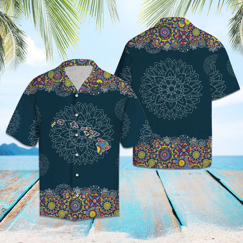 HAWAII MANDALA - HAWAII SHIRT A7