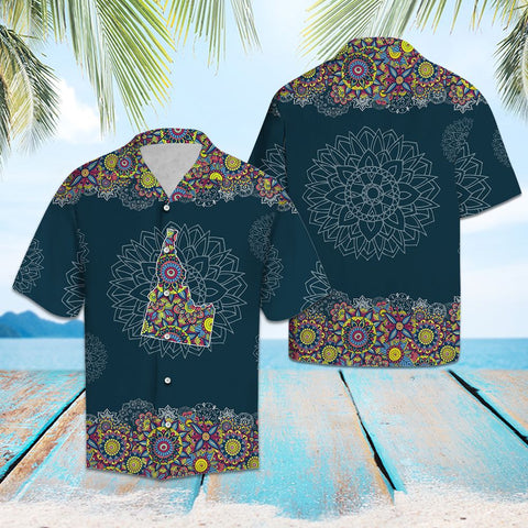 IDAHO MANDALA - HAWAII SHIRT A7