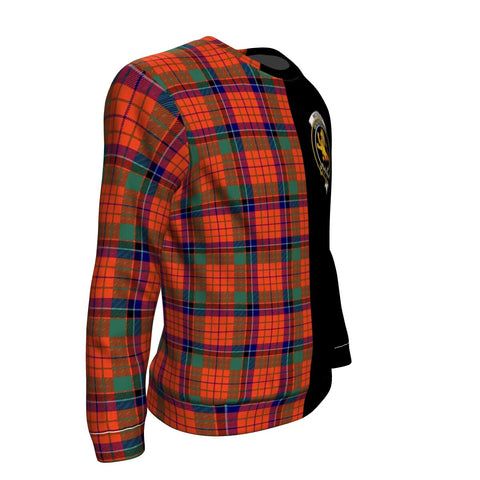 Nicolson Ancient Tartan Sweatshirt - Half Style TH8