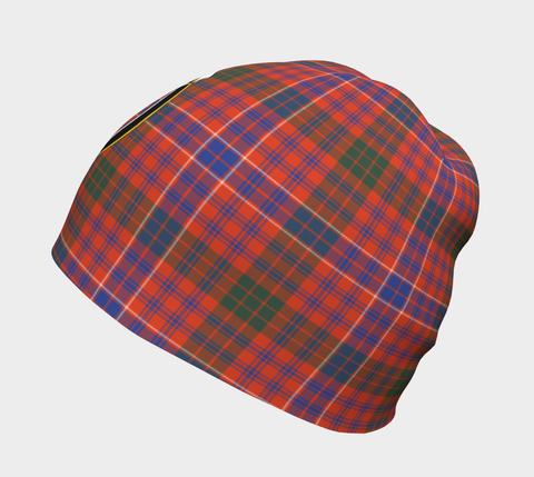 Image of MacRae Ancient Tartan Clan Crest Beanie Hj4