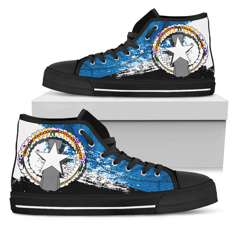 Northern Mariana Islands Special High Top Shoes A7