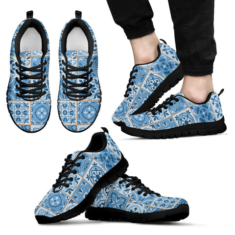 Image of Portugal Sneakers - Azulejos Pattern 08 Z3