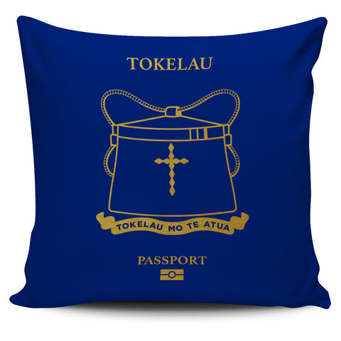 Tokelau Pillow Cover - Passport Version - Bn04