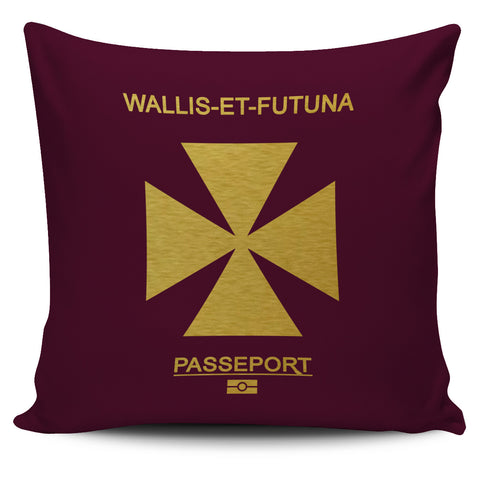 Wallis And Futuna Pillow Cover - Passport Version - Bn04